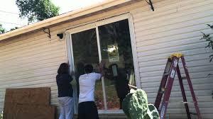 Cost Install Sliding Patio Door Backyards Glass Door Installation Glass Storm Door Installation