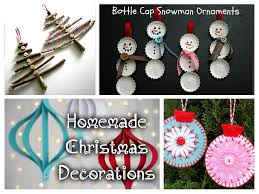 Easy Homemade Christmas Ornaments by 20 Easy Homemade Christmas Decorations For Kids Random Talks