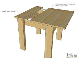 Free Wood End Table Plans by Simple Kid U0027s Table And Chair Set Her Tool Belt