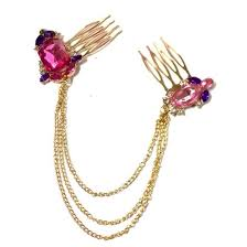 hair pins pink purple hair pins itahdnura kollection