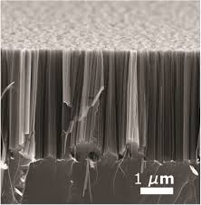 light emitting silicon nanowires obtained by metal assisted