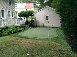 backyard putting greens backyard putting greens cost putting