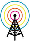 cartoon antenna tower