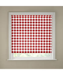 Gingham Kitchen by Buy 2ft Red Gingham Kitchen Roller Blind At Argos Co Uk Your