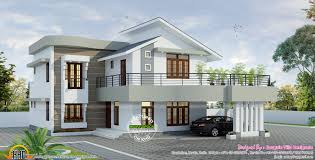contemporary style kerala home design new style home design stunning decoration square feet amazing and