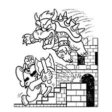 super villain coloring pages top 20 free printable super mario coloring pages online