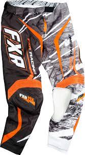 fxr motocross gear fxr racing dirtbike mx gear podium warp mx pant black white