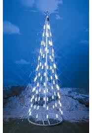 white tree with lights wayfair