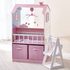 Doll House Furniture Target Amazon Com Teamson Kids All In One 18 Inch Baby Doll Nursery