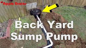 low water sump pump back yard sump pump u2013 appledrains