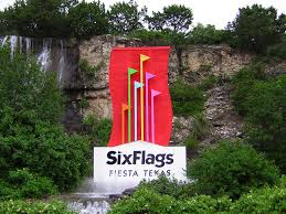Texas Flag Half Staff River Walk San Antonio Texas While Daughter Amber And Son