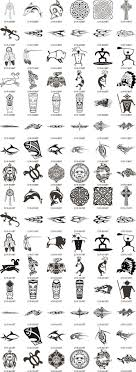 meaning of tribal tattoos symbols image collections symbol and