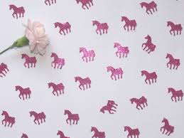 pink unicorn confetti unique party decorations for unicorn lovers