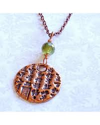 customizable jewelry amazing deal on copper pendant necklace calligraphy