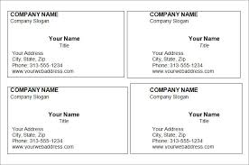word business card template blank business card template business