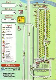Bastrop State Park Map Bastrop Koa Campsites