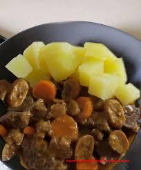 comment cuisiner le jarret de veau jarret de veau aux pommes de terre vapeur recette companion