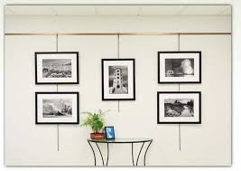how to hang a painting walker display picture hanging system 1 0 home