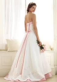 pink lace wedding dress strapless lace pink wedding dress sang maestro