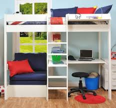 High Sleeper Bed With Desk And Sofa High Sleeper With Sofa Bed Pull Out Desk 50 With