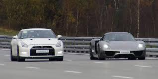 nissan gtr alpha 16 price 4k porsche 918 spyder vs alpha 12 nissan gtr r35 two races on