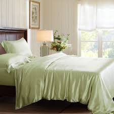 bed sheet quality high quality silk bed linens machine washable