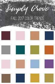 color trend 2017 welcoming fall fall color trends 2017 simply grove