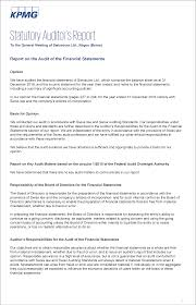 financial analysis sample report corporate governance and remuneration report