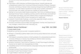 Sample Comprehensive Resume For Nurses by Curriculum Vitae Template For Nurse Practitioner Curriculum Vitae