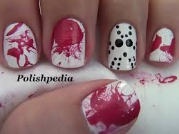 jason mask nail art halloween nails polishpedia nail art