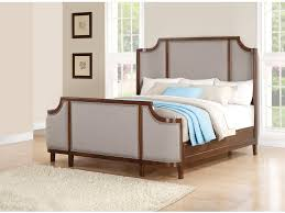 flexsteel bedroom queen upholstered panel bed w1008 90q lauters