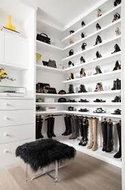 ideas fur upholstered bench and chest of drawers with shoe