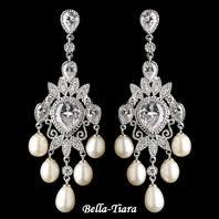 Sparkly Chandelier Earrings Wedding U0026 Bridal Earrings Chandelier Earrings Bella Tiara Com