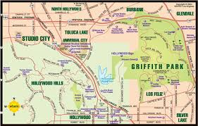 griffith park map los angeles map neighborhoods guide to the absolute must