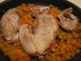 recette de cuisine filet de faisan filets de faisan au muscat et carottes braisés recette ptitchef