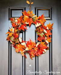 autumn wreath updated autumn wreath with corn husks domestically speaking