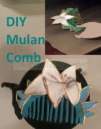 mulan hair comb mulan inspired hair comb the puzzling crafter