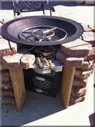 Diy Propane Firepit Clean Burning Outdoor Firepits Propane Burner Authority And