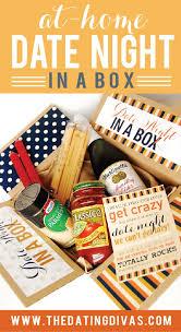 date gift basket date in a box