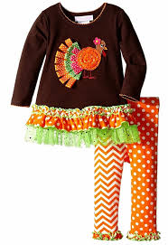 thanksgiving infant headbands amazon com bonnie jean little girls thanksgiving brown ribbon