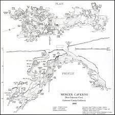 mercer map mercer caverns cave maps