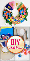 wall decor ideas easy paper wall craft using best out of waste