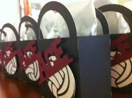 volleyball gift bags for team crap i u0027ve made pinterest