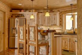 Knotty Pine Cabinets Kitchen Knotty Pine Cabinets Kitchen Rustic With Cedar Granite Rustic