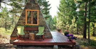couple builds tiny a frame cabin in three weeks for only 700