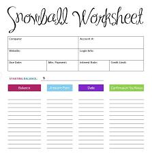 Get Out Of Debt Budget Spreadsheet by Best 25 Debt Snowball Worksheet Ideas On