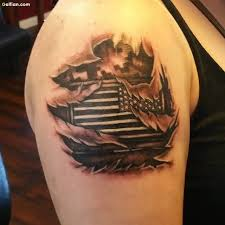 60 fabulous army flag tattoo images u2013 awesome us flag tattoo
