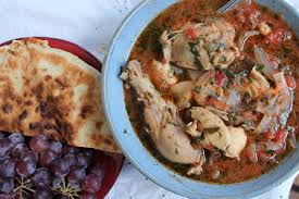 chakhokhbili georgian chicken stew with herbs and tomatoes eat