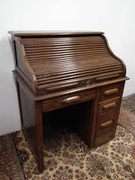 Small Oak Roll Top Desk Small Oak Roll Top Desk Antiques Atlas