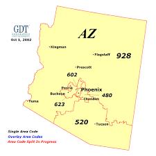 michigan area code map arizona area code map